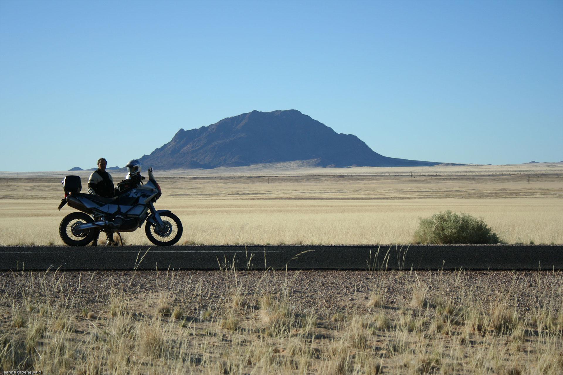 Namibia/Botswana motorbike tour Ride2Roam